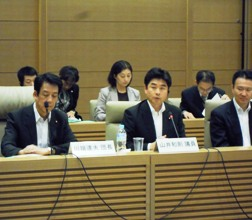 第6回日中議会交流委員会に出席