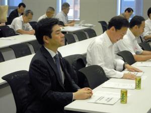 厚生労働部門会議に出席