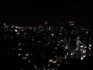議員宿舎からの夜景