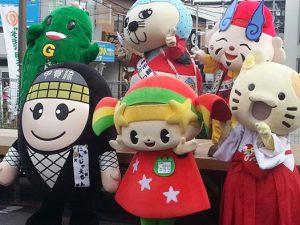 キララ祭り(in 新田辺駅東口)、城陽まつり(in 城陽駅前)