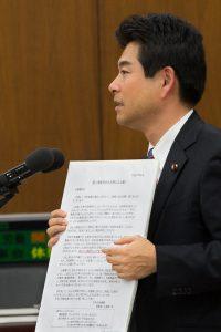20150603-日本年金機構本部 水島理事長に質問