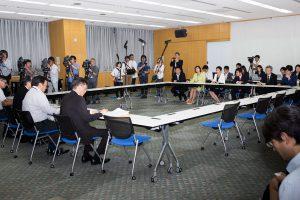 20150604-日本年金機構本部にて
