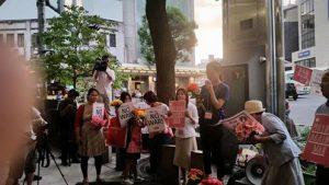 20150814安保反対デモ