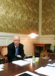 ドイツのバルトケ国会議員と意見交換