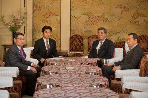 20170324-民進・自民国対委員長会談