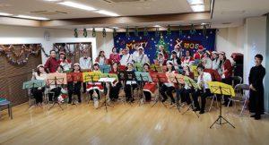 槇島コミセンのクリスマスコンサート
